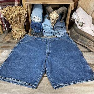 Wrangler Men's Carpenter Denim Jean Shorts Size 44